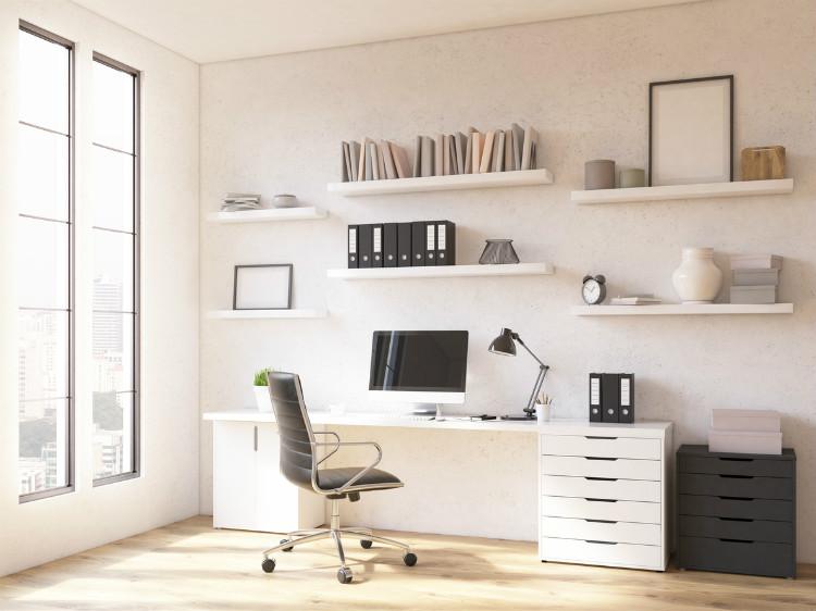 Arbeitszimmer einrichten feng shui  Einrichtung eines Büros - so schaffen Sie einen gemütlichen ...