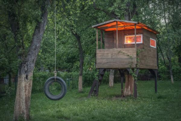 Baumhaus selber bauen Wie das Groprojekt gelingt