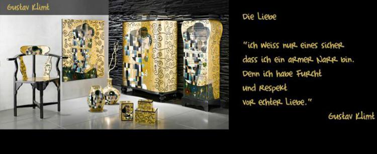 Die Casa Kollektion von Gustav Klimt