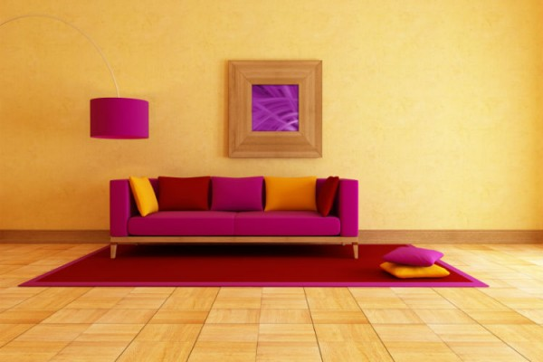 Wohnzimmer Farbe Wand