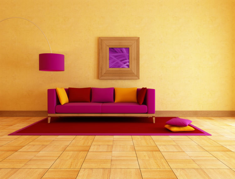 Wand Farbgestaltung Wohnzimmer ~ Surfinser, Wohnzimmer