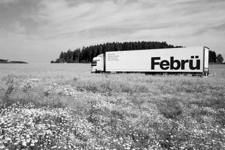 Februe-Auslieferung