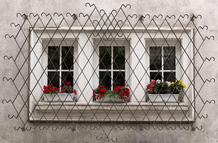 Fenstervergitterung