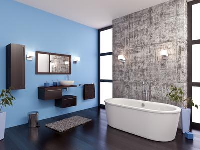 Salle de bain design 1
