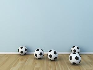 Fussball Kinderzimmer Eine Renovierung Als