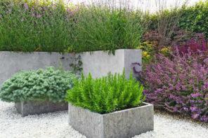 Blumenkübel als Dekoelement – So dekorieren Sie Haus und Garten mit Töpfen & Kübeln