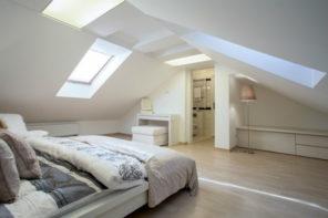 Im Dachgeschoss wohnen – Vor- und Nachteile einer Wohnung unterm Dach