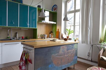 Umzug mit individueller Küche