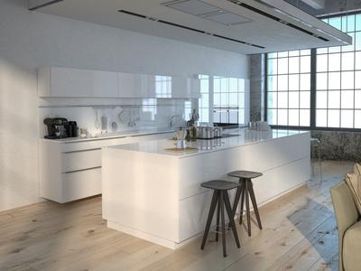 Moderne Küchen Mit Kochinsel Weiß | Schlossreitstall – timeschool.info | {Moderne einbauküchen mit kochinsel 57}