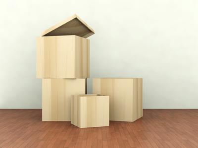 Aufbewahrungsboxen in stilvollem Design lassen sich einfach in die Wohnungseinrichtung integrieren