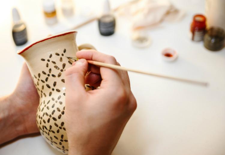 Keramik Trend So dekorieren Sie mit Keramik