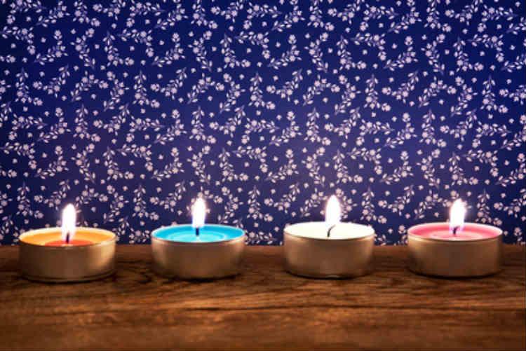 Kerzen als Wohnaccessoire