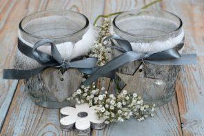 Kerzen im Glas dekorieren – die besten Tipps