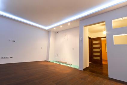 Passende Hintergrundbeleuchtung mit LED herbeiführen