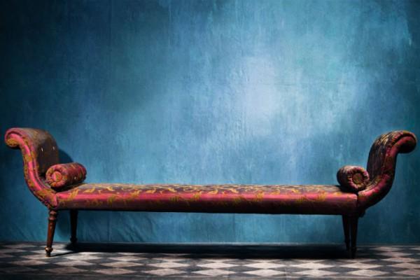 Sofa in Wohnzimmer