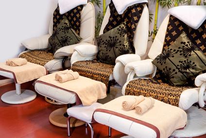 Probieren Sie einen Massagesessel auf jeden Fall persönlich vor dem Kauf aus