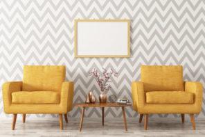 Mit bunten Tapeten das Wohnzimmer gestalten – welche Tapete passt zu mir?