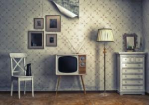 Wohnzimmer im Retro Stil