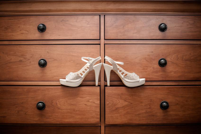 Garderobe als Stauraum für Schuhe
