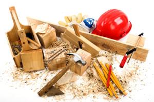 Werkzeug und Spähne liegen durcheinander