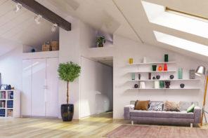 Zimmer im Dachgeschoss einrichten: Das sollten Sie beachten