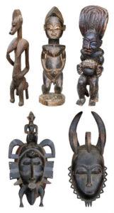Afrikanisch Dekorieren: Masken & Figuren