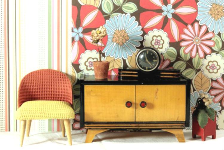 wohnstile retro stil wohnungs. Black Bedroom Furniture Sets. Home Design Ideas