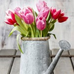 Blumentopf Gartendeko