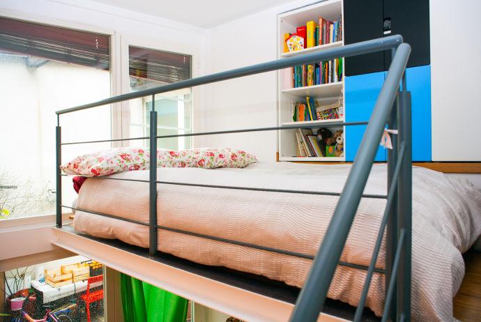 Hochbetten mehr aus kleinen zimmern machen wohnungs - Monolocale con letto a soppalco ...