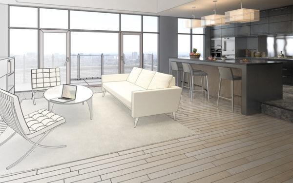 Luxuriöse Wohnung