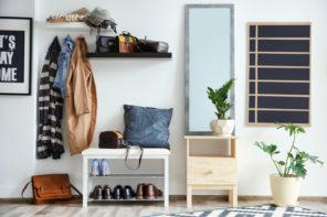 Den Flur ideal mit einer Garderobe einrichten – Dos und Don'ts