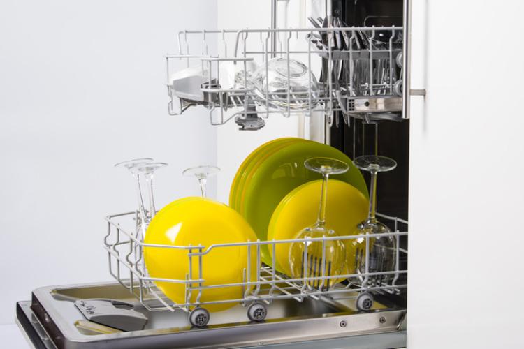 Saubere Spülmaschine