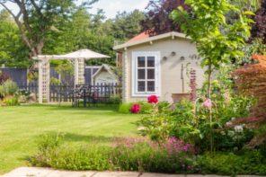 Gartenhaus: Wie groß es ohne Genehmigung sein darf!