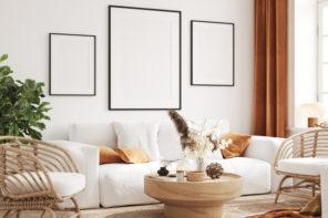 Bilder dekorativ aufhängen – Tipps für die Bildwandplanung
