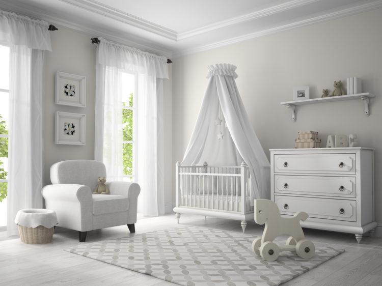 sch ne babyzimmer gestalten so richten sie zimmer f r neugeborene ein wohnungs. Black Bedroom Furniture Sets. Home Design Ideas