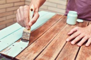 In 3 einfachen Schritten Möbel neu lackieren!