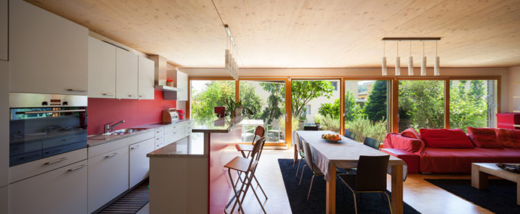 offenes wohnen vor und nachteile wohnungs. Black Bedroom Furniture Sets. Home Design Ideas