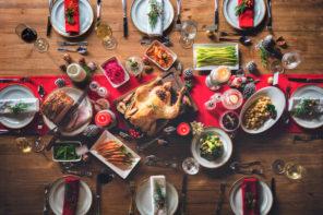Tischdeko zu Weihnachten: Ideen für das Weihnachtsessen mit der Familie