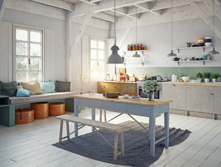Küche im vintage Style