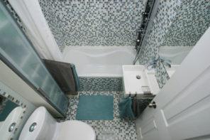 4 Tipps wie Sie ein kleines Bad größer wirken lassen