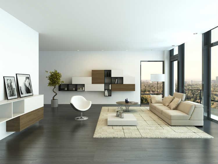 Minimalistisches Wohnzimmer Moblieren Modernise