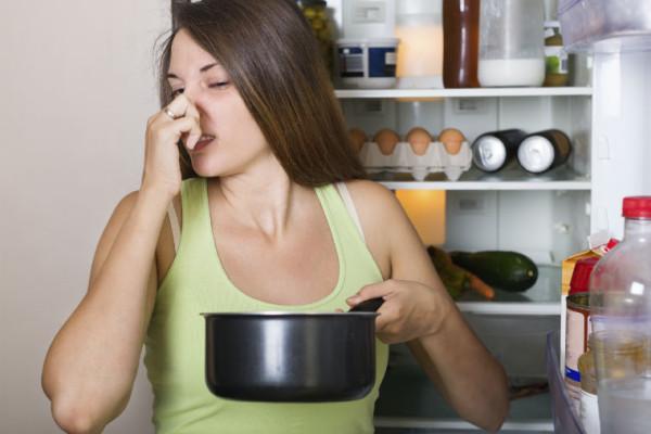 Gestank aus dem Kühlschrank