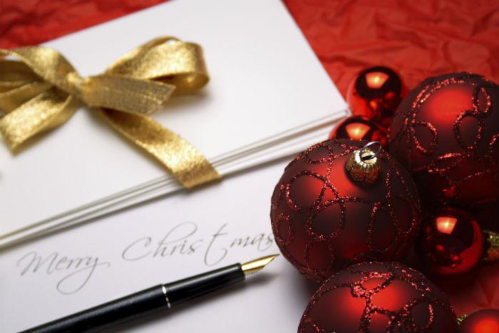 Weihnachtskarten sind leicht selbst zu gestalten